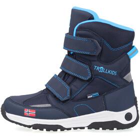 TROLLKIDS Lofoten Buty zimowe Dzieci, navy/medium blue